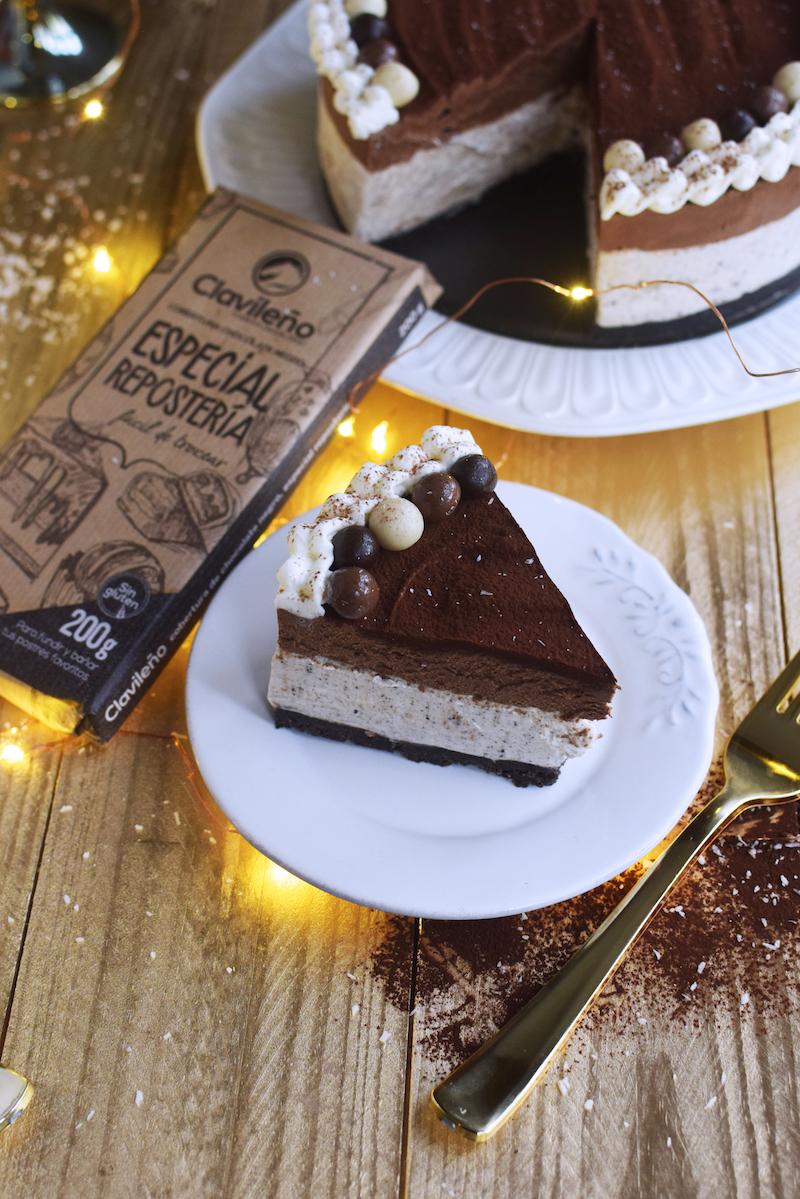 Cheesecake de Oreo y Mousse de chocolate