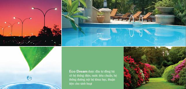 Hệ thống tiện ích vượt trội tại Eco Dream
