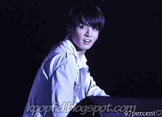 Jungkook BTS photo was concert