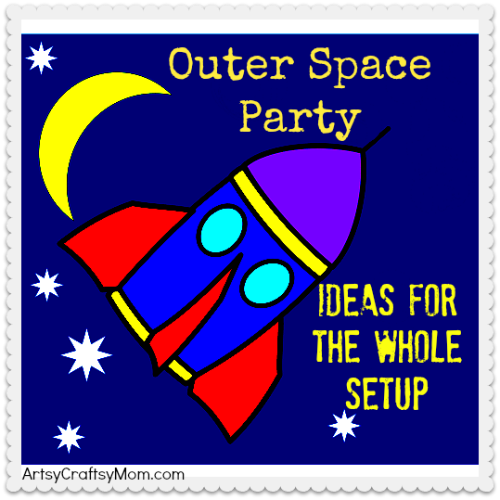Outer Space Room Decor For Teen: 20 Ideas For A Fabulous Outer Space Party