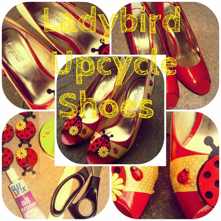 Ladybird Up-cycled Shoes…