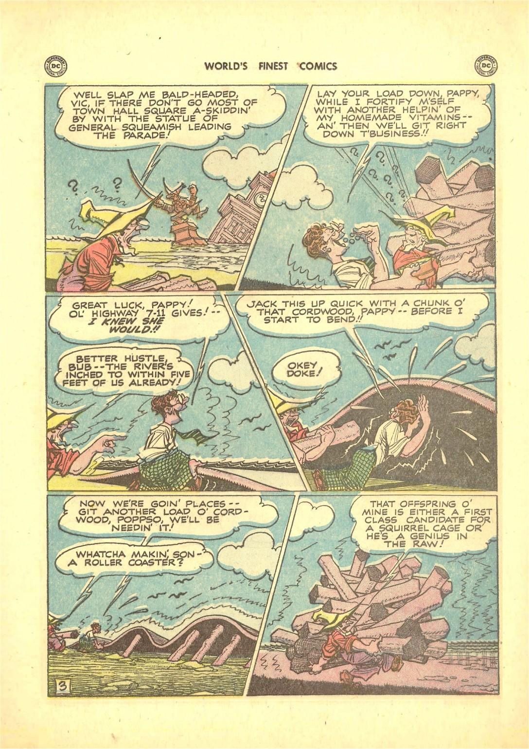 Read online World's Finest Comics comic -  Issue #50 - 53
