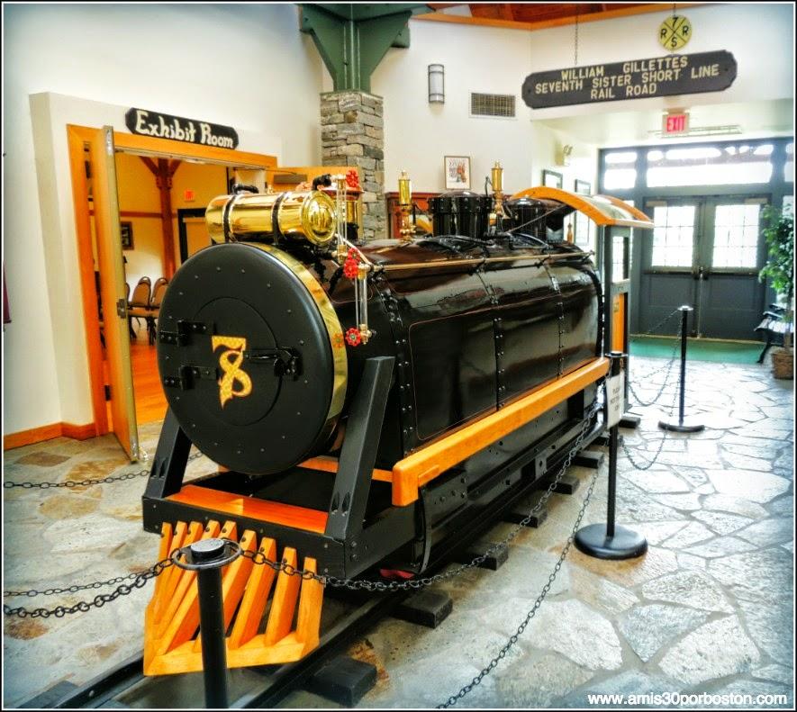 Visitor Center: Tren diseñado por Gillette