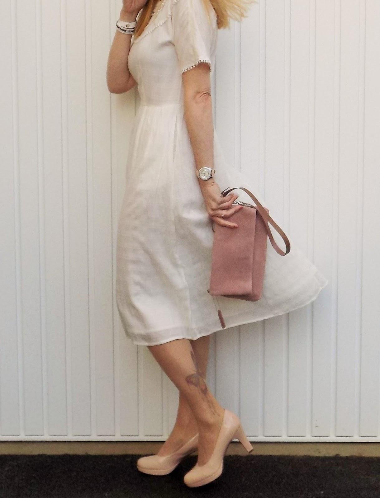& Other Stories pompom dress