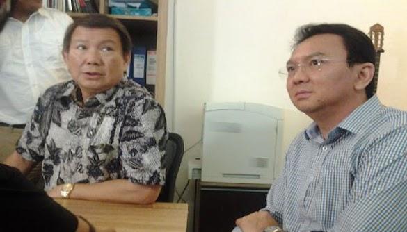 Adik Prabowo Beberkan Curhat Ahok yang Tiap Hari Datang ke Ruang Kerjanya saat akan Maju Pilgub