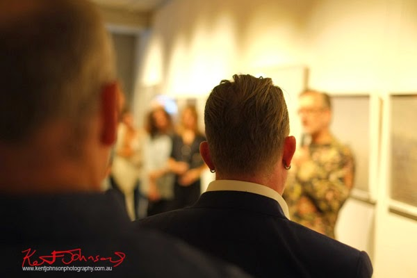 Speeches, Simon Harsent at Black Eye Gallery for MELT.