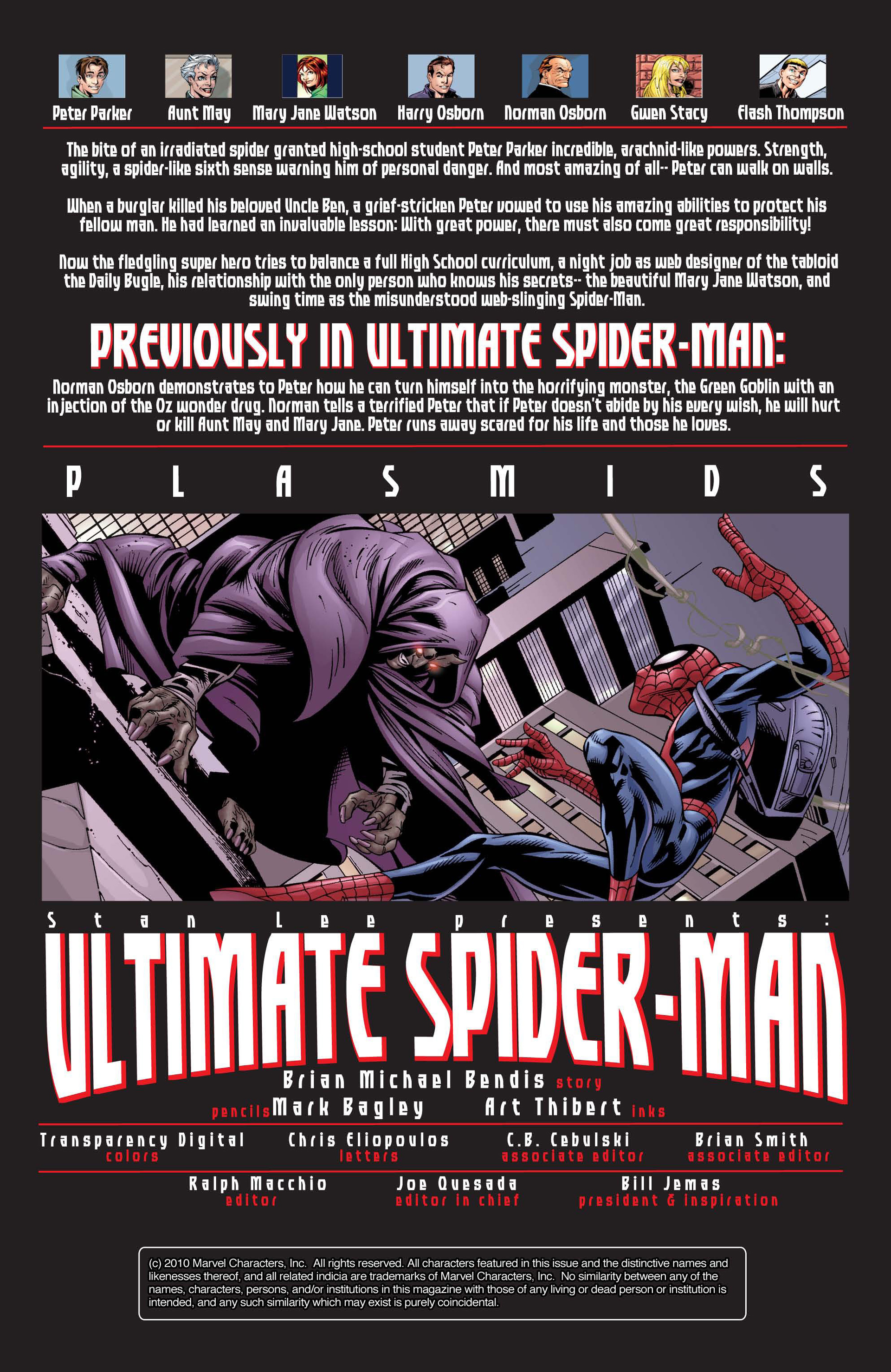 Read online Ultimate Spider-Man (2000) comic -  Issue #25 - 2