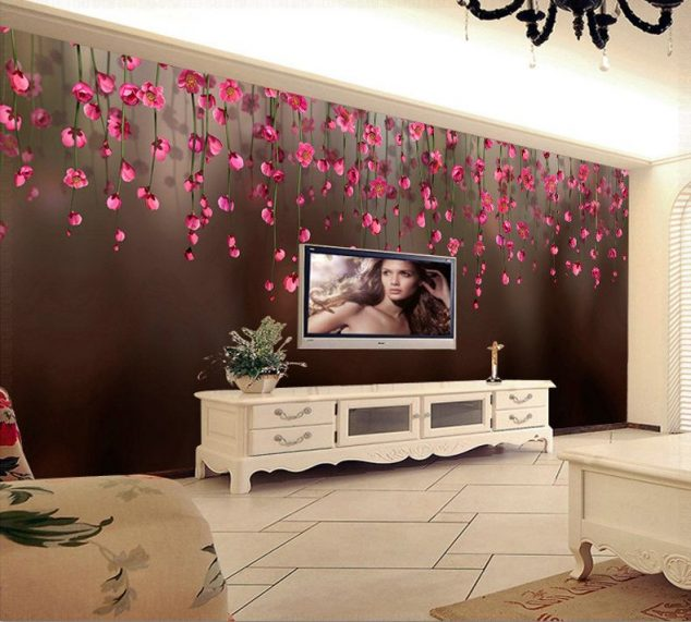 Beautiful 3D Wallpaper For TV Wall Units That Will Make A