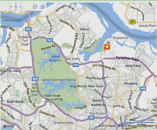 Seletar Base Golf Club Singapore Location Map,Location Map of Seletar Base Golf Club Singapore,Seletar Base Golf Club Singapore accommodation destinations attractions hotels map reviews photos pictures