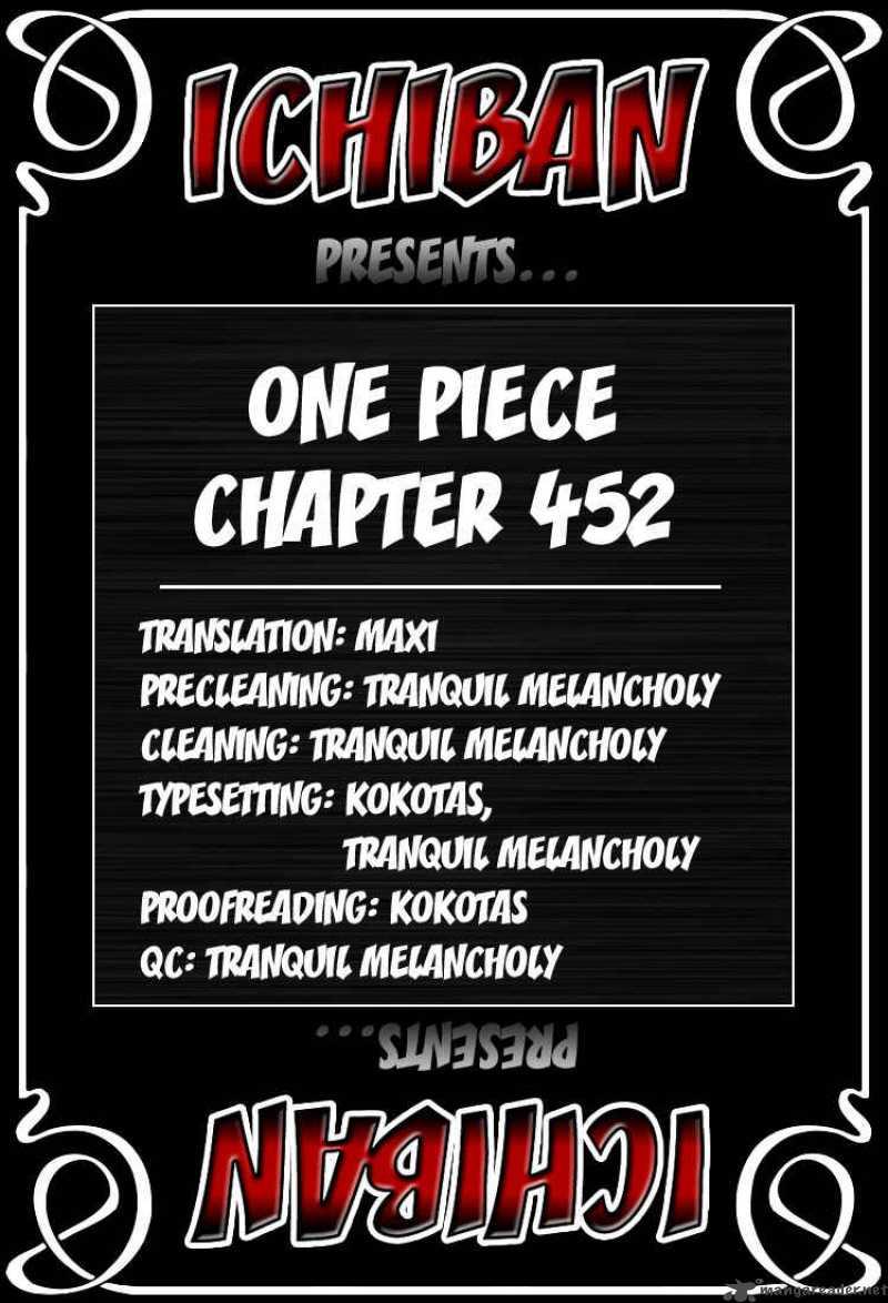 One Piece 452