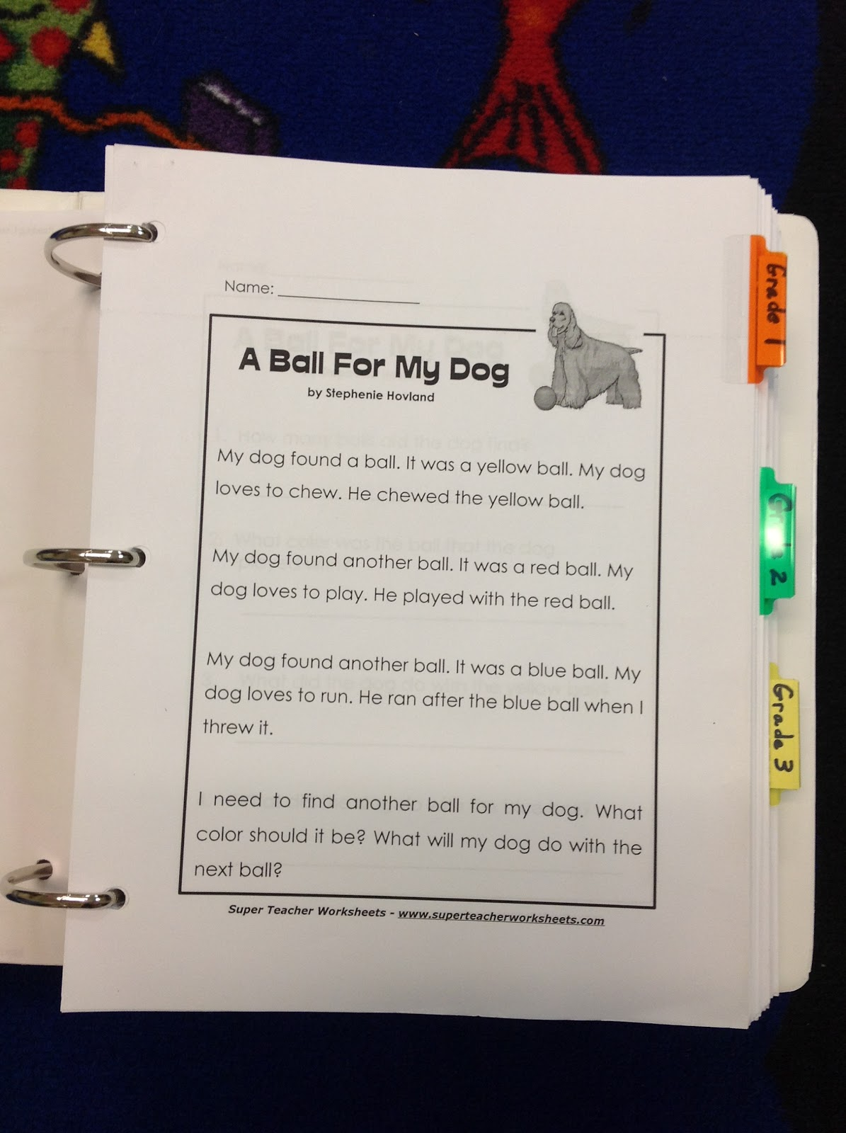 Conversations In Literacy Comprehension Binder
