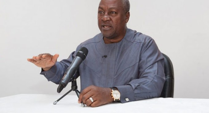 Mahama Congratulates Donald Trump On Election Victory