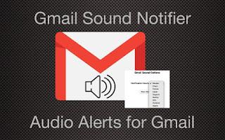 GMail audio alerts