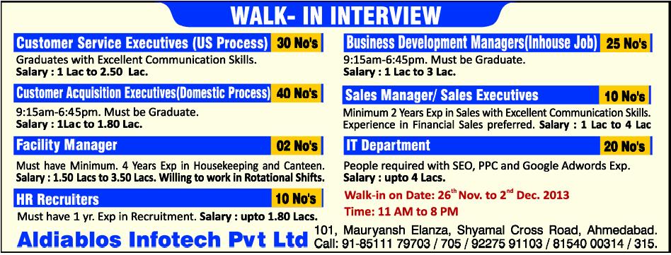 Walk in interview gulf jobs : Boscoin to inr utah
