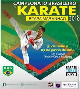 Campeonato Brasileiro de Karate - Fase Classificatória MA