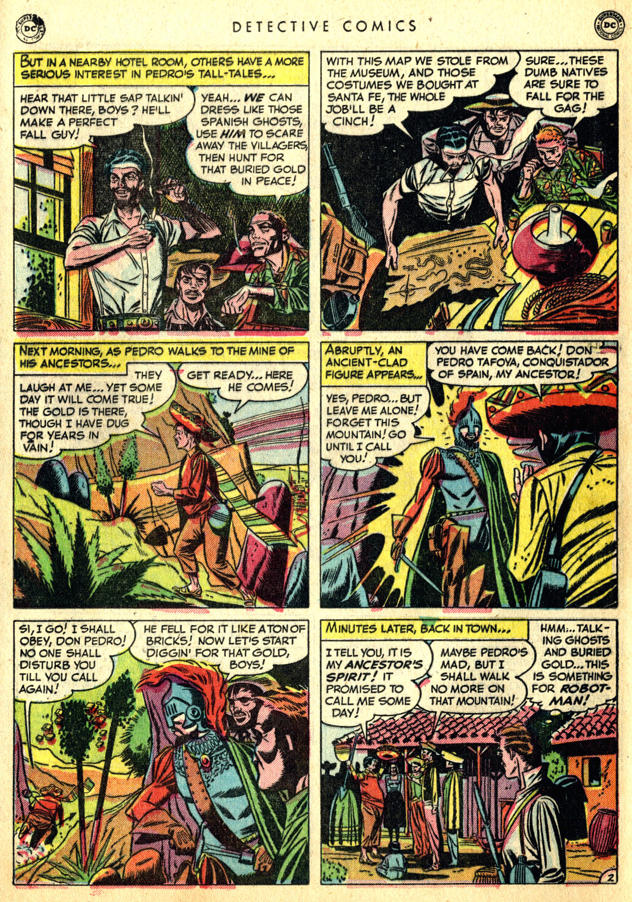 Read online Detective Comics (1937) comic -  Issue #168 - 30
