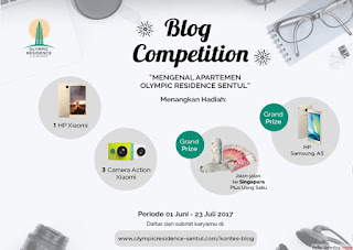 Olympic Residence Blog Competition 2017