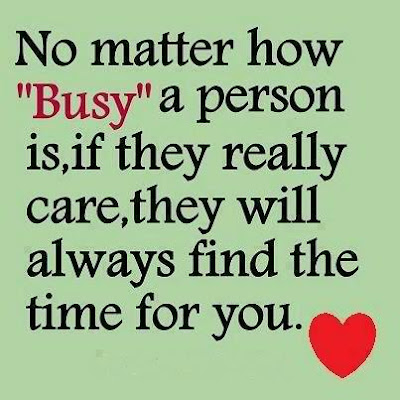 What If She's Too Busy For You?