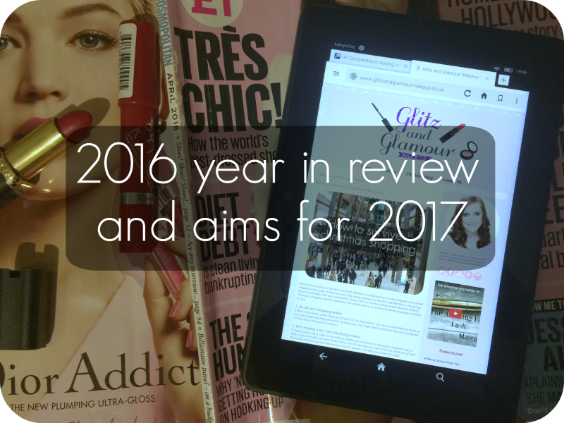 2016 year in review and aims for 2017