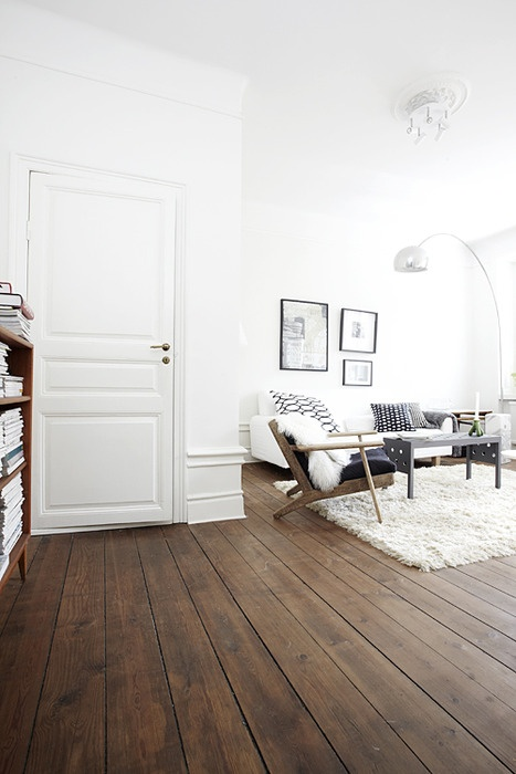 surprising white living rooms dark wood floors | Management Chair: Parlor Rug Size