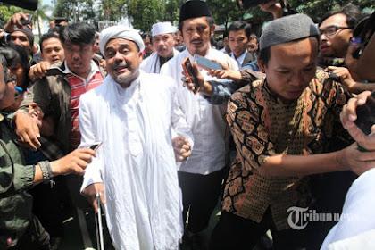 Habib Rizieq Bakal Ketemu Ahok Jadi Saksi di Persidangan, Pengamanan Akan Diperketat