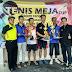 Ratusan Peserta Ikuti Kejuaraan Tenis Meja Putra Bangsa CUP