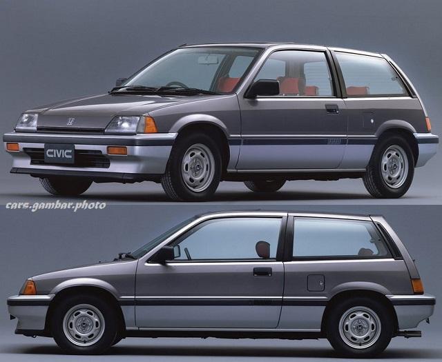 Honda Civic 3rd Generation Hatchback Facelift Grey Two Tone