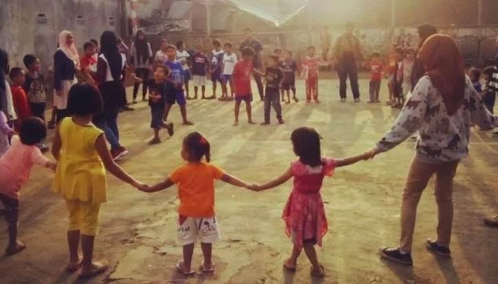 Permainan Tradisional Bali Meong - Meongan