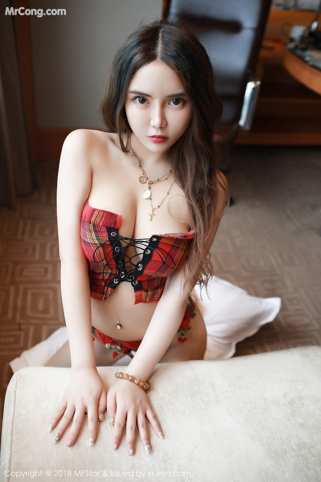 Image MFStar-Vol.157-Wen-Xinyi-MrCong.com-003 in post MFStar Vol.157: Người mẫu Wen Xinyi (温心怡) (32 ảnh)