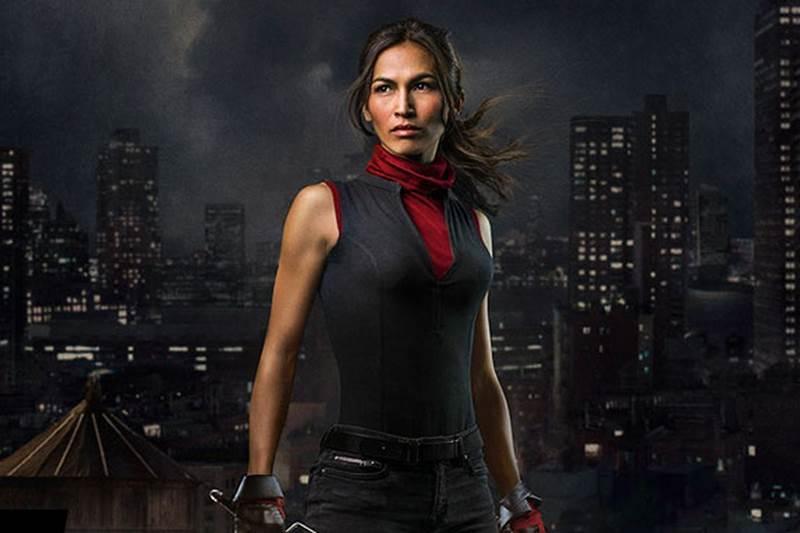 Os Defensores  Elektra estará na série