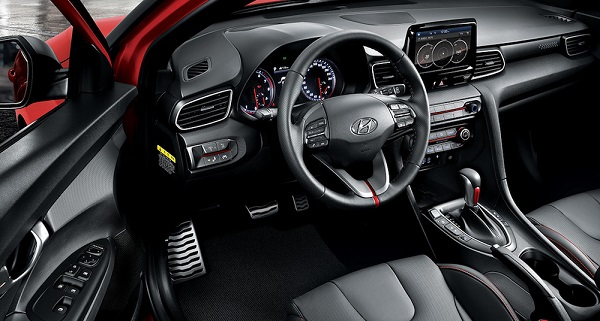 Hyundai Veloster 2019 Argentina Interior