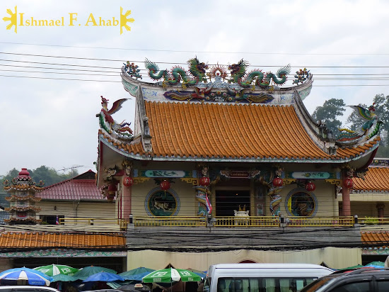 Chinese temple in Mae Sai, Thailand
