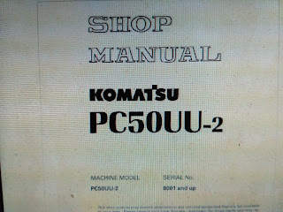 Komatsu Shop Manual PC50UU-2