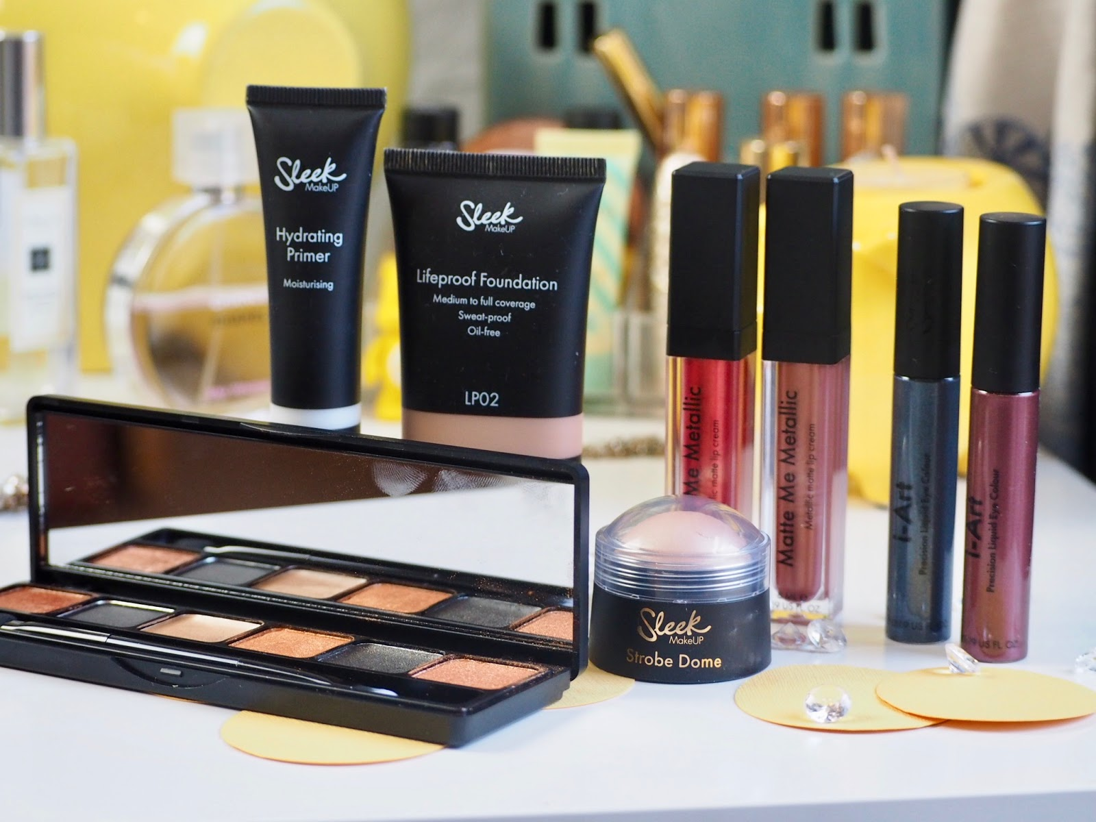 New In: Sleek Make Up + Swatches*