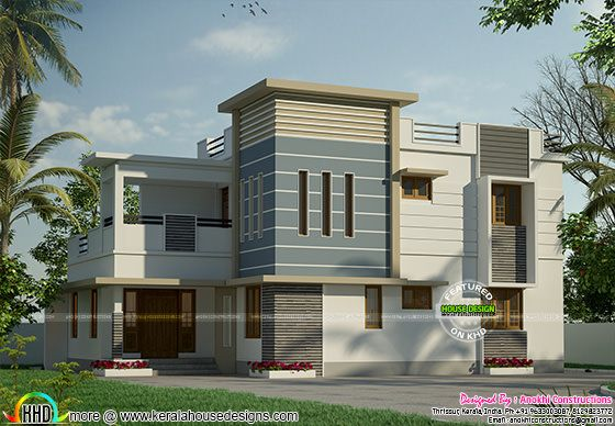 Modern house for 31 lakhs