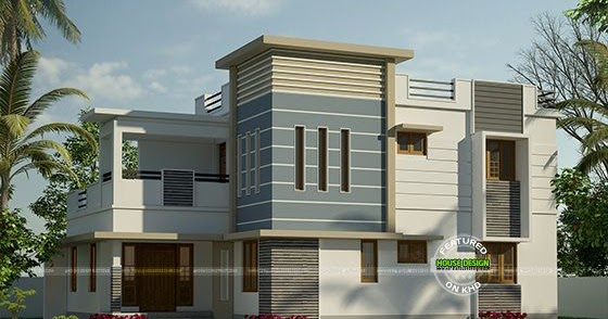Modern house for 31 lakhs kerala home design and floor plans for The space scape architects thrissur kerala
