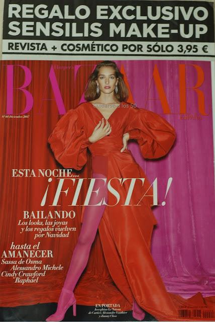 Revista Bazar Harpers diciembre 2017