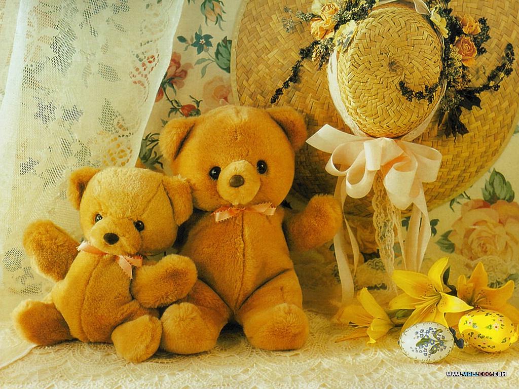 Sweet Girl Cartoon Wallpaper My Sweet World Oh Teddy Bear I Still Love Thee