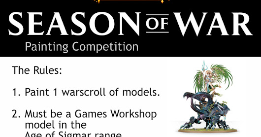 Season of War: Painting Competition, Voting!