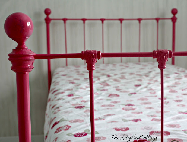 Bedroom Sneak Peek - Lilypad Cottage