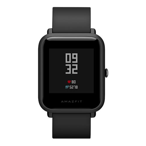 (English Version)Xiaomi Huami Amazfit Bip Lite Version IP68 Sports Smartwatch Bluetooth 4.0 GPS Glonass 45 Days Standby – Black