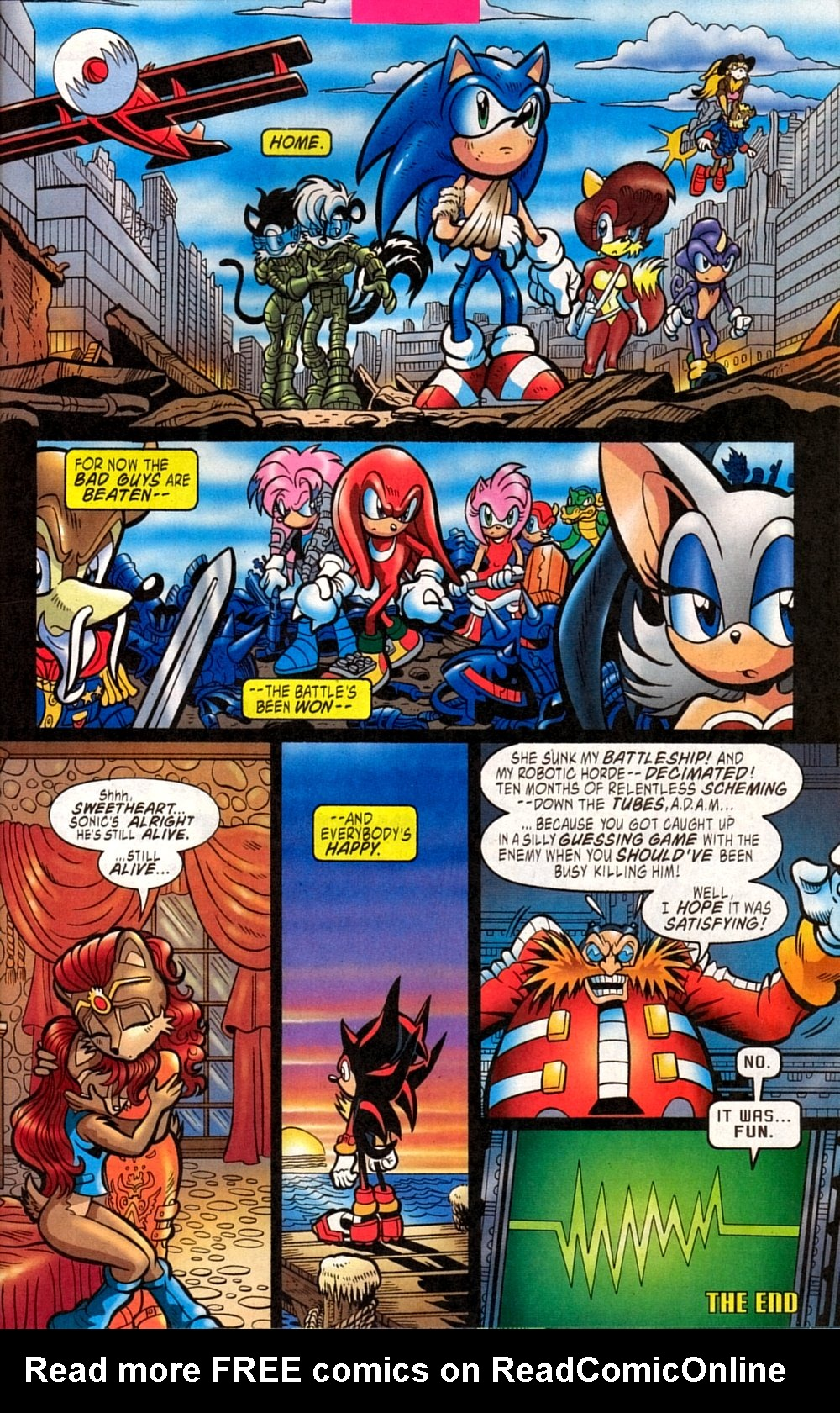 Read online Sonic The Hedgehog comic -  Issue #133 - 23