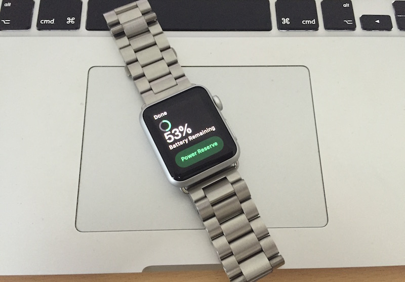 Check Apple Watch Battery Life