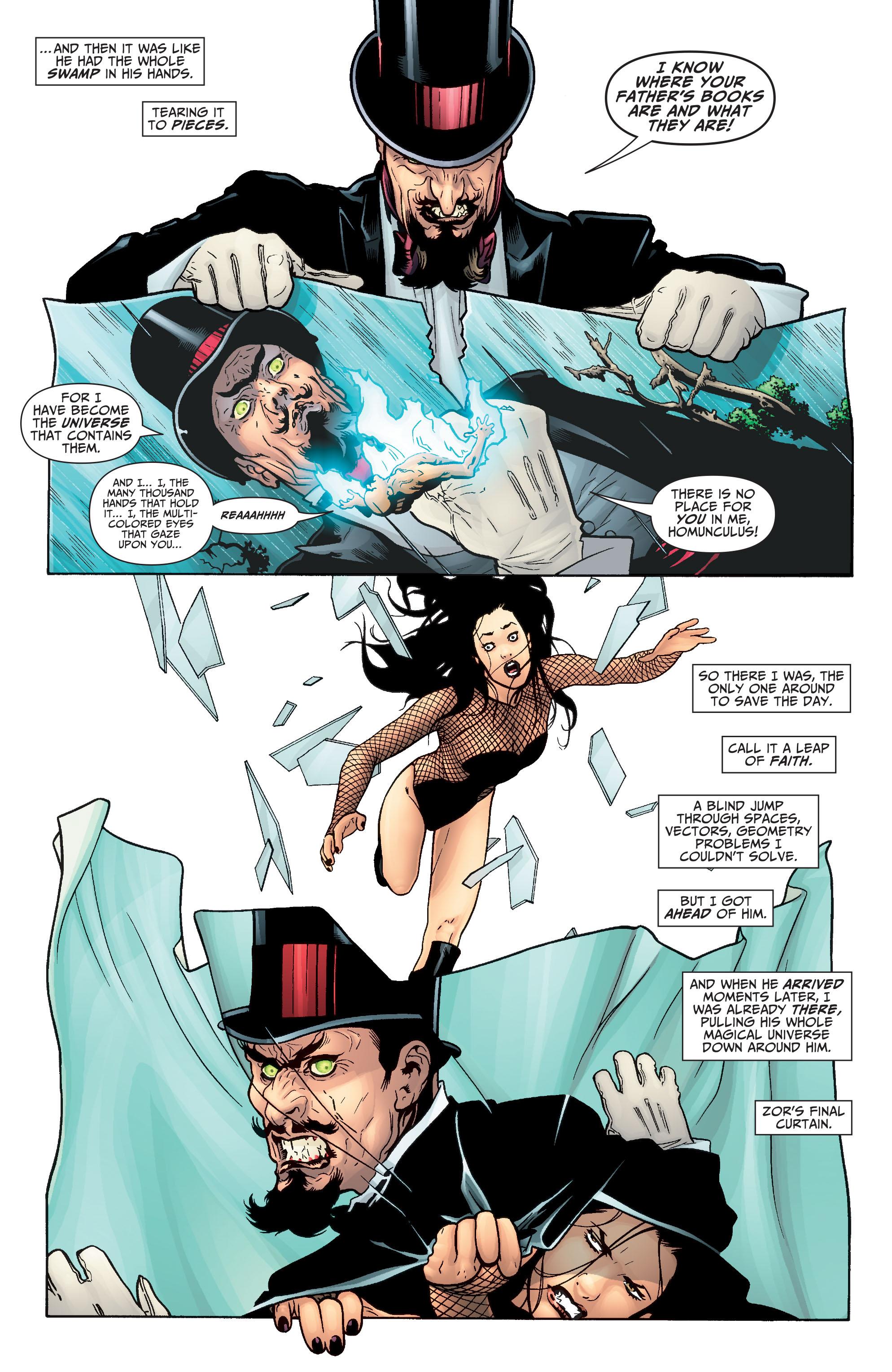 Read online Seven Soldiers: Zatanna comic -  Issue #4 - 14