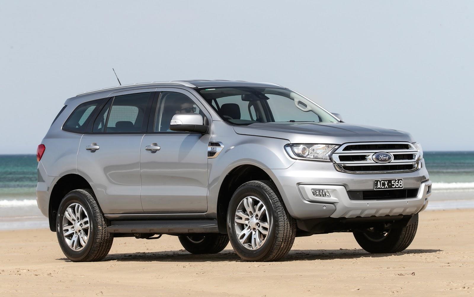 Ford Everest luôn là chiếc SUV dẫn đầu thị trường xe thế giới