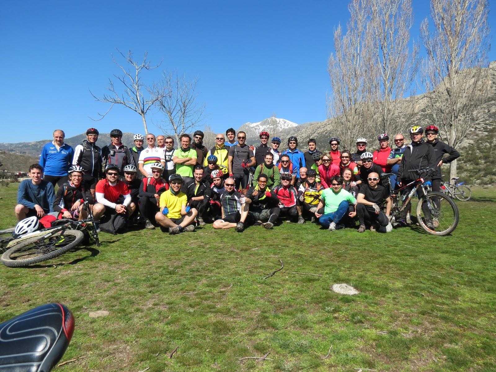 Ruta de Cercedilla a Madrid por el Camino de Santiago, con el grupo 'en bici por madrid'