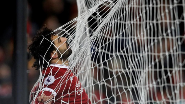Cetak 21 Gol Dari 25 Laga , Salah Catat Rekor Baru Di Liverpool