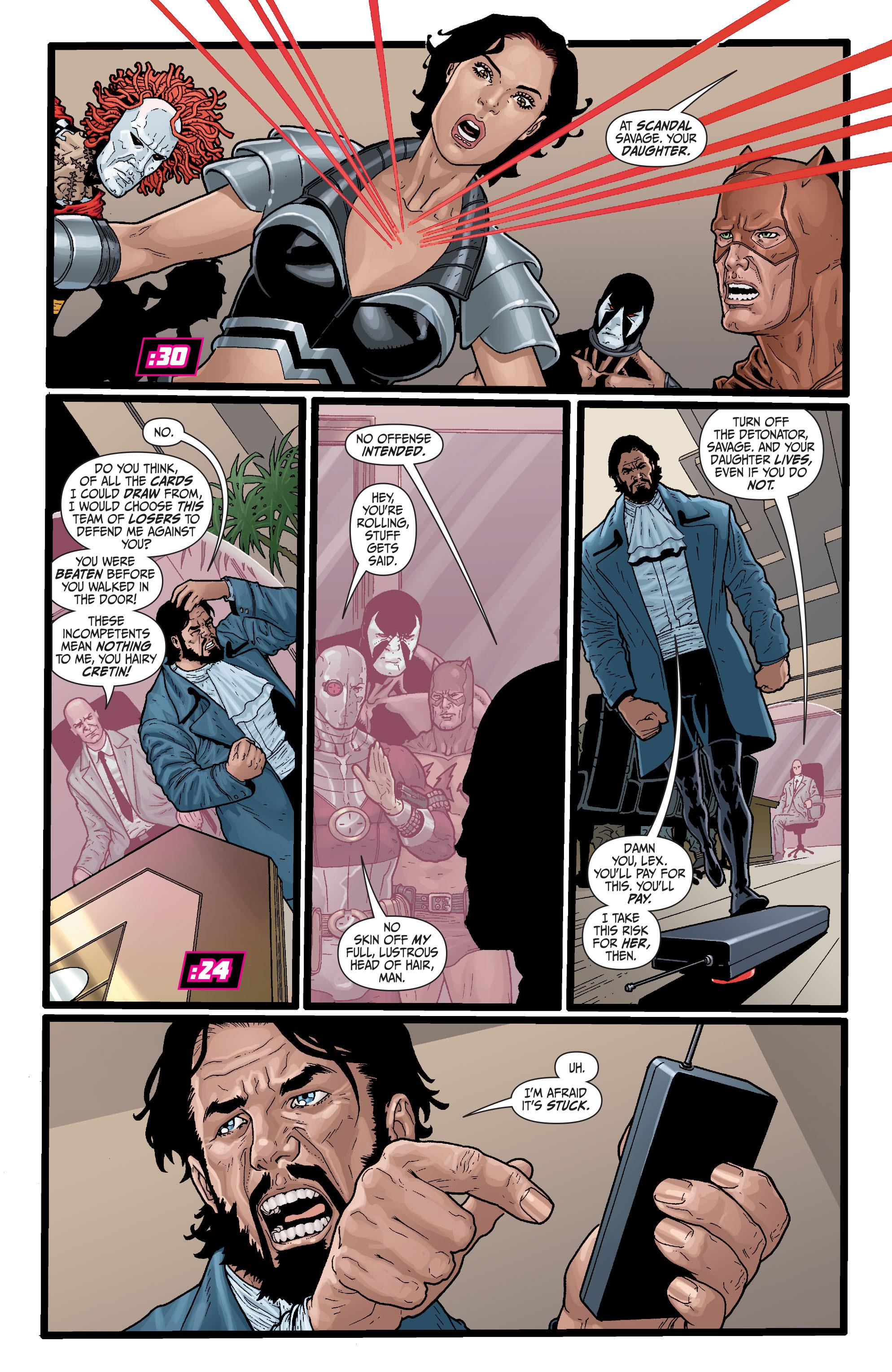 Read online Secret Six (2008) comic -  Issue #29 - 8