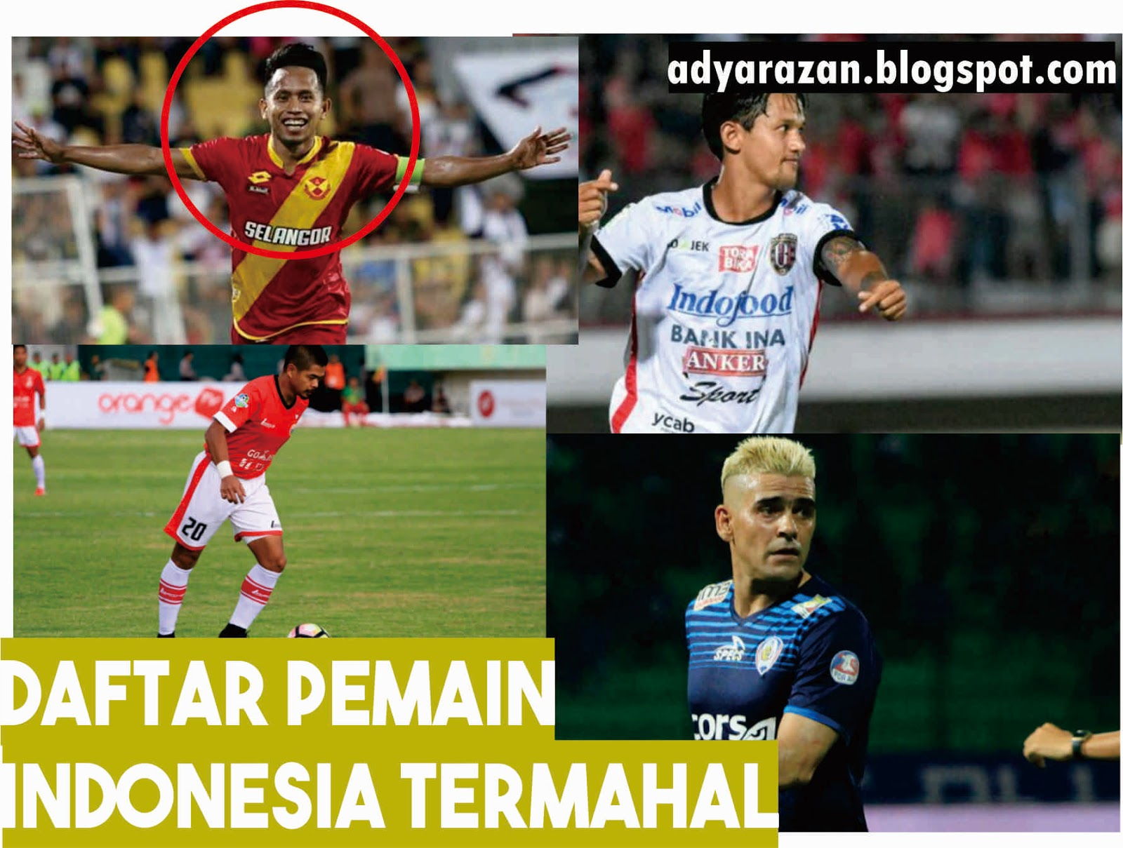 7 Daftar Pemain Sepak Bola Indonesia Termahal Sepanjang Masa