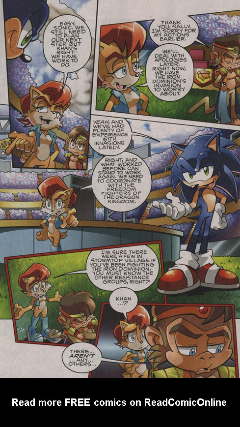 Read online Sonic The Hedgehog comic -  Issue #201 - 15